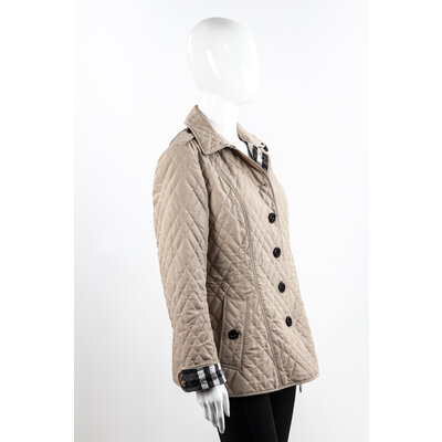 Trench Coat Curto Burberry Impermeavel Bege