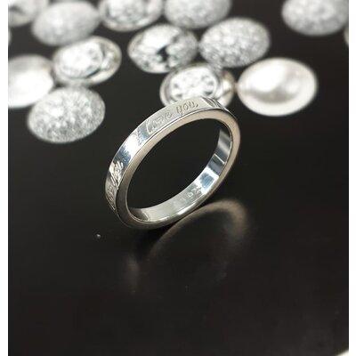 Aliança Tiffany & Co Love Prata
