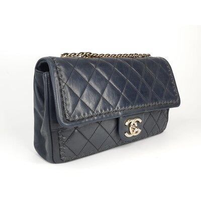 Bolsa Chanel em Couro Calfskin Preta