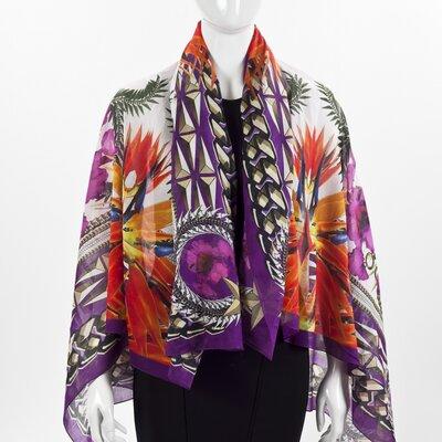 Echarpe Givenchy em seda estampado