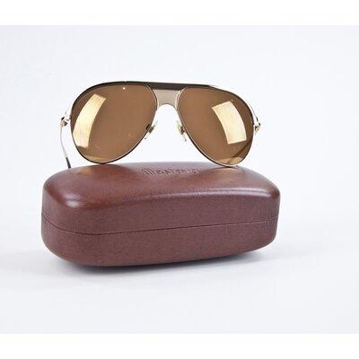 Óculos Dolce & Gabbana aviator dourado