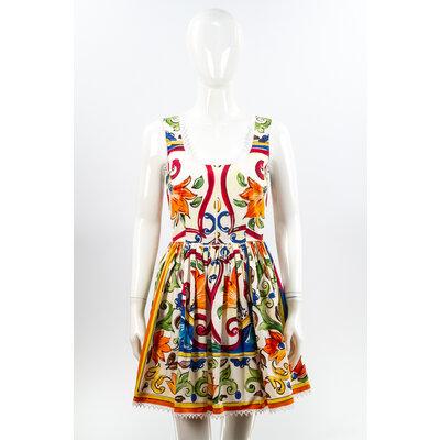 Vestido Dolce & Gabbana Tecido Estampado