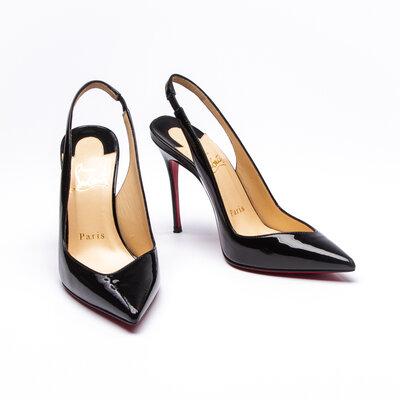 Sapato C. Louboutin Verniz Preto