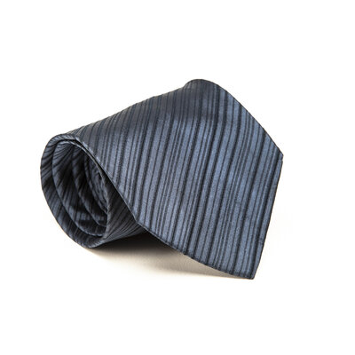 Gravata Gucci em seda azul petróleo