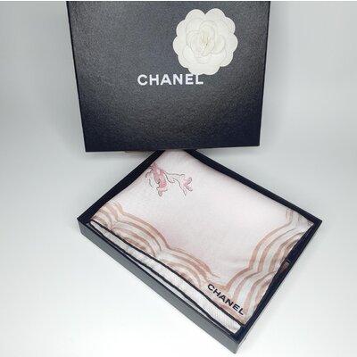 Lenço Chanel Seda Estampado