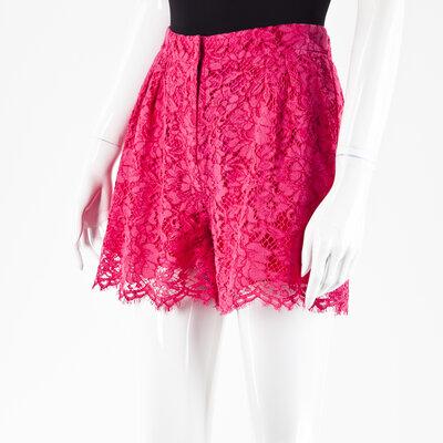 Short Dolce & Gabbana em renda pink