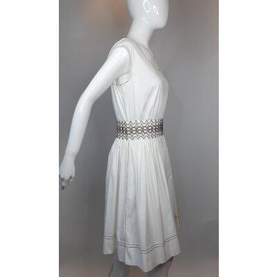 Vestido Prada Cotton Branco