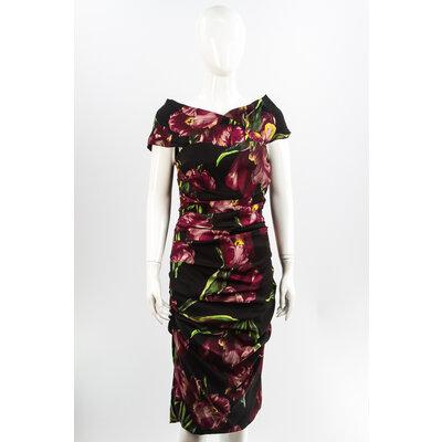 Vestido Dolce & Gabbana Seda Estampado