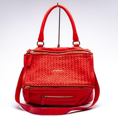 Bolsa Givenchy Pandora Couro Vermelha