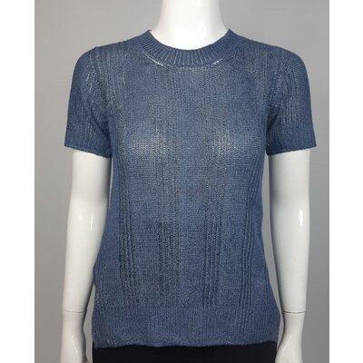 Top Prada Cashmere Azul