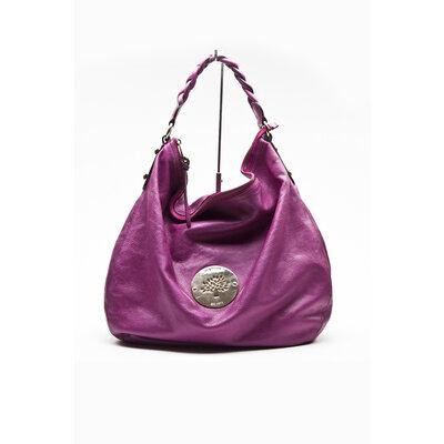 Bolsa Mulberry em couro rosée