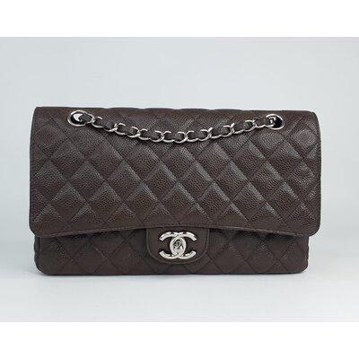 Bolsa Chanel 255 Caviar Marrom