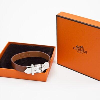 Pulseira Hermès cor gold