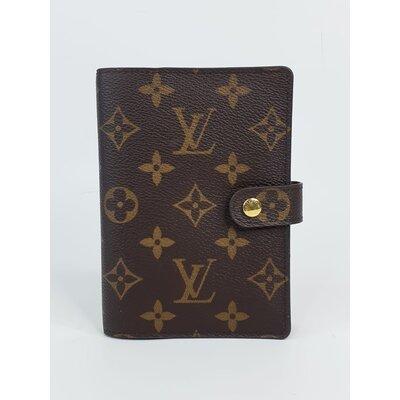 Capa para Agenda Louis Vuitton Canvas Monograma