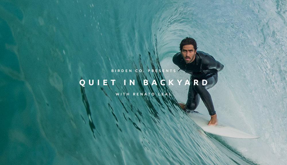 Renato Leal - Quiet in backyard