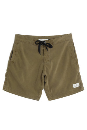 WALKSHORT SLIM WASHED OLIVE