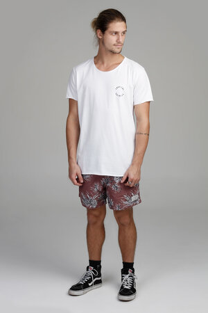 CAMISETA WHITE TROPICAL TOURIST