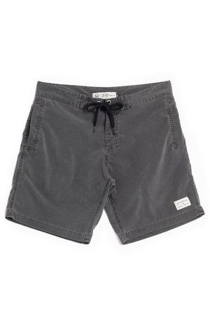 WALKSHORT SLIM WASHED GREY