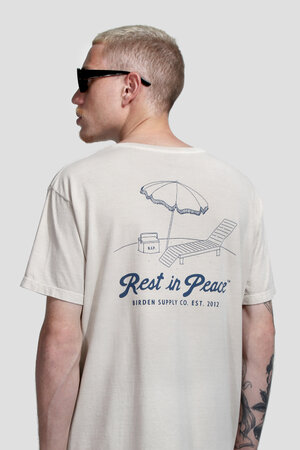 CAMISETA REST IN PEACE CREAM