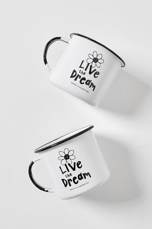 CANECA BIRDEN LIVE THE DREAM 370ML