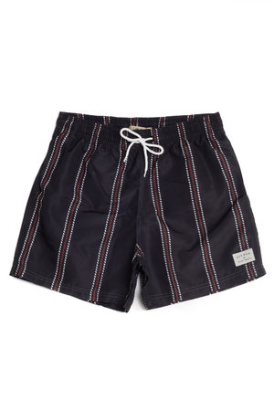 SWIM SHORT VACATION STRIPES
