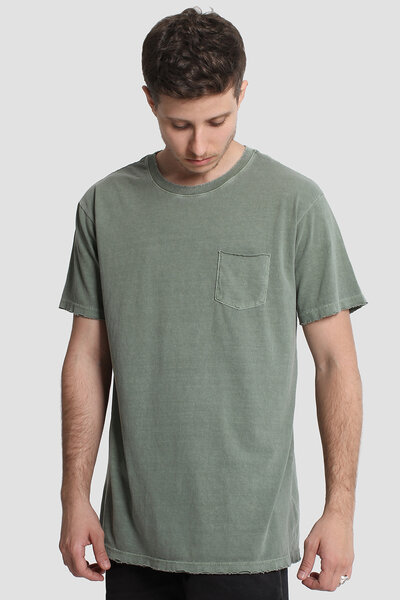 CAMISETA DESTROYED OLIVE
