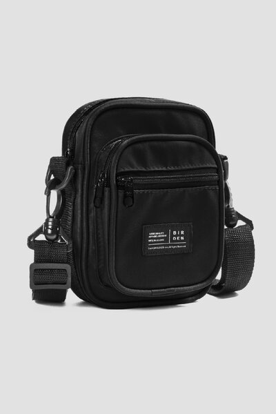 SHOULDER BAG COMPACT BLACK