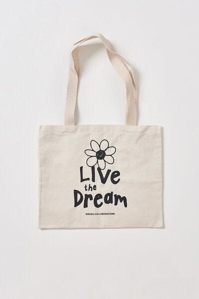 TOTE BAG BIRDEN DREAM ON