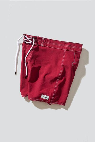 Boardshort Retro Red 16''