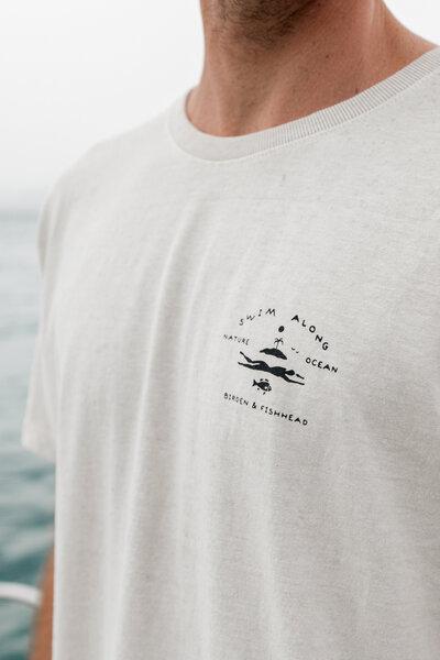 Camiseta Float Cream