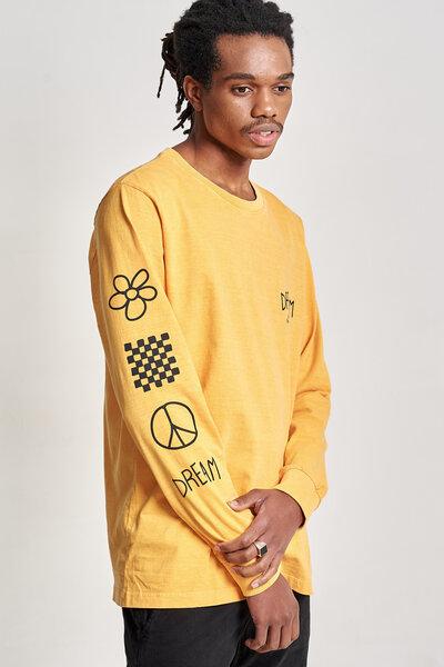 Camiseta Manga Longa Base Camp Yellow