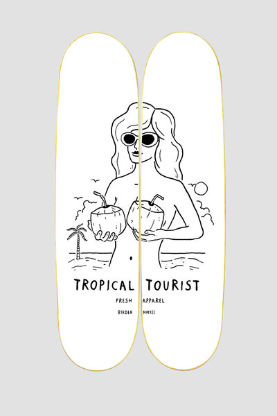 QUADRO ONBOARD TROPICAL TOURIST