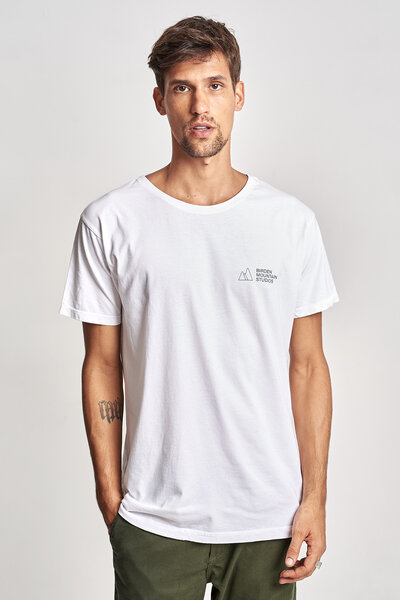 CAMISETA MOUNTAIN STUDIOS WHITE