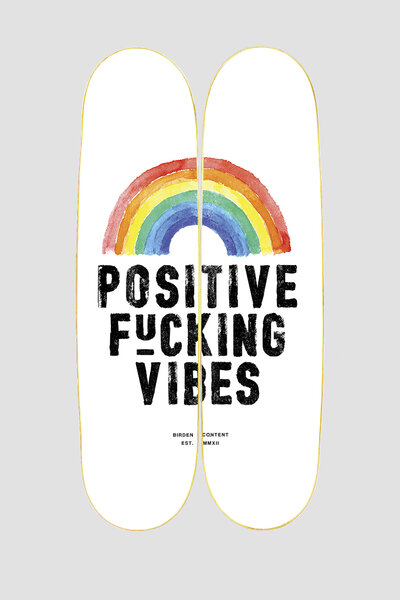 QUADRO ONBOARD POSITIVE VIBES