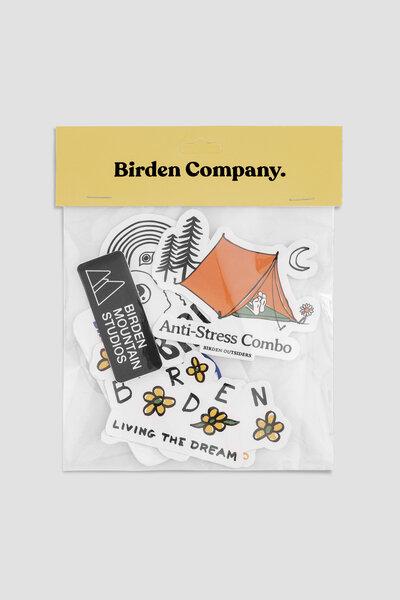 Birden Pack Vol. 4 - Kit 6 Adesivos