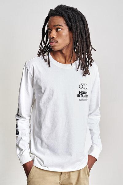 Camiseta Manga Longa Moon Rituals Off White