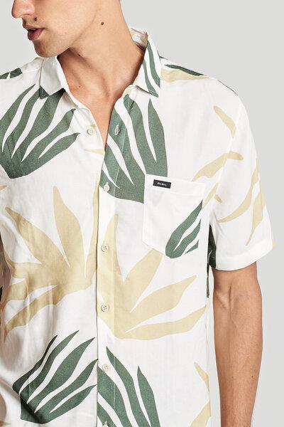Camisa Marine Flowers