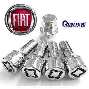 Parafuso Antifurto Roda Fiat 12x1,25