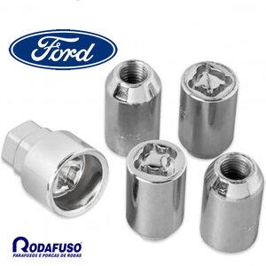 Parafuso Porca Antifurto Roda Ford 12x1,5
