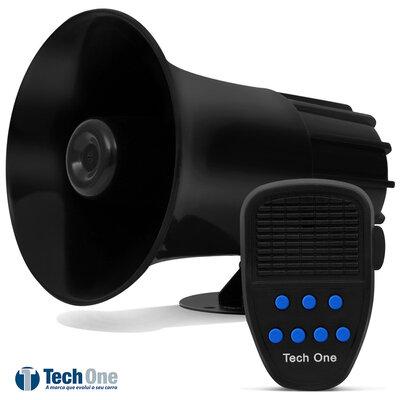 Sirene Automotiva 7 Tons com Microfone