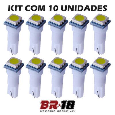 10 Unidades (5 Pares) LED T5 Mosquito Painel Branco, Azul, Vermelho, Verde