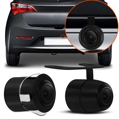 Câmera de Ré 2 em 1 Borboleta e Para-choque Opção com ou sem Linha de Distância