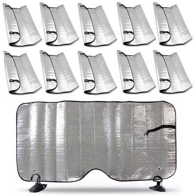10 Unidades Protetor Tapa Sol Quebrasol Auto Parabrisa Painel Vidro