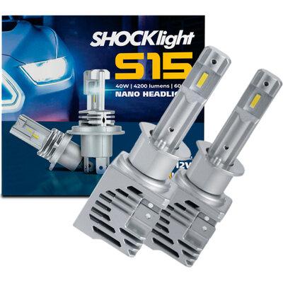 Super LED HeadLigth Nano S15 40w 6000k