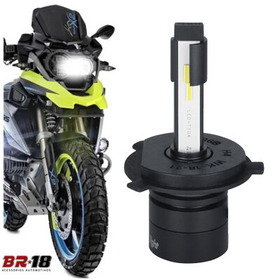 Super LED Para Moto HeadLigth Nano S14 32w 6000k