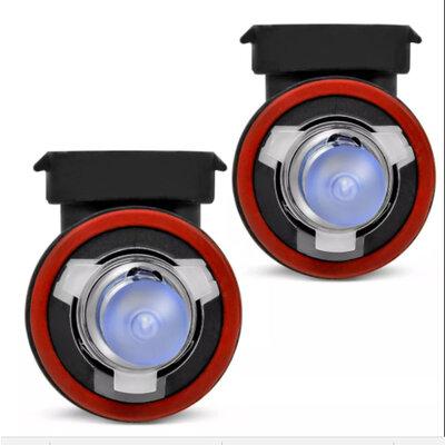 Lâmpada Super Branca H9 55w - Efeito Xenon 8500k (Par)