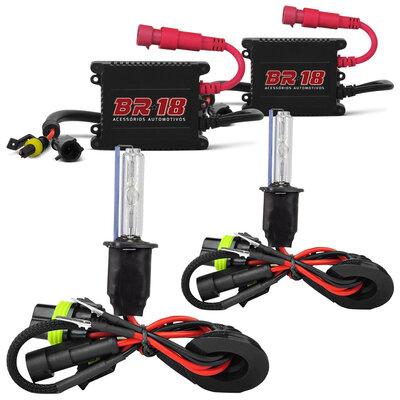 Kit Xenon 8000K H1 H3 H4-2 H7 H8 H9 H11 H16 H27 HB3 9005 HB4 9006