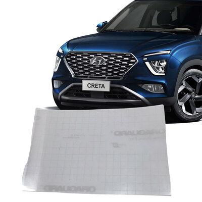 Película Multimidia Anti Risco Hyundai Novo Creta 2022 9 Polegadas