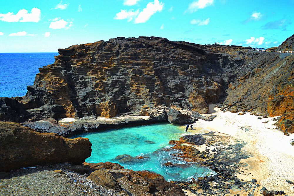 Halona Blowhole Beach - No caminho p/ North Shore via costa
