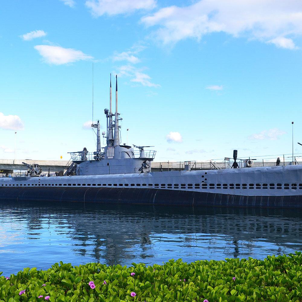 Submarino em Pearl Harbor